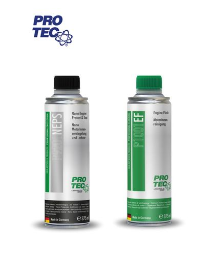 PRO TEC Nano Engine Protect & Seal + PRO TEC Engine Flush