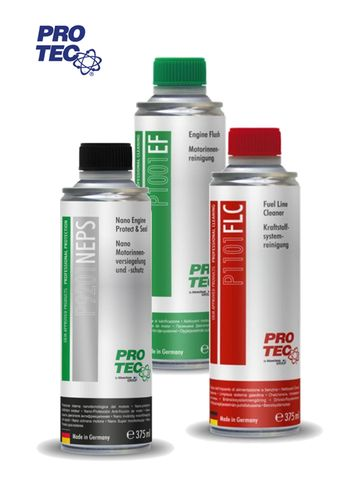 PRO TEC Nano Engine + Engine Flush + Fuel Cleaner