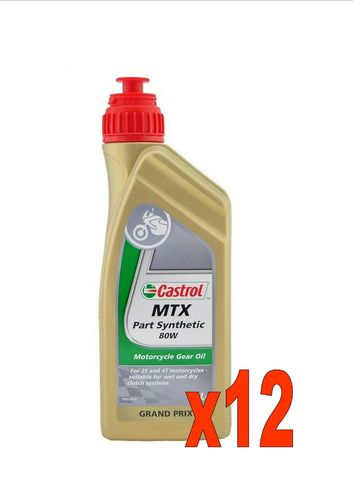 CASTROL MTX Part Synthetic 80W lt 1